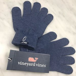 Vineyard Vines Kids Blue Winter Gloves NWT